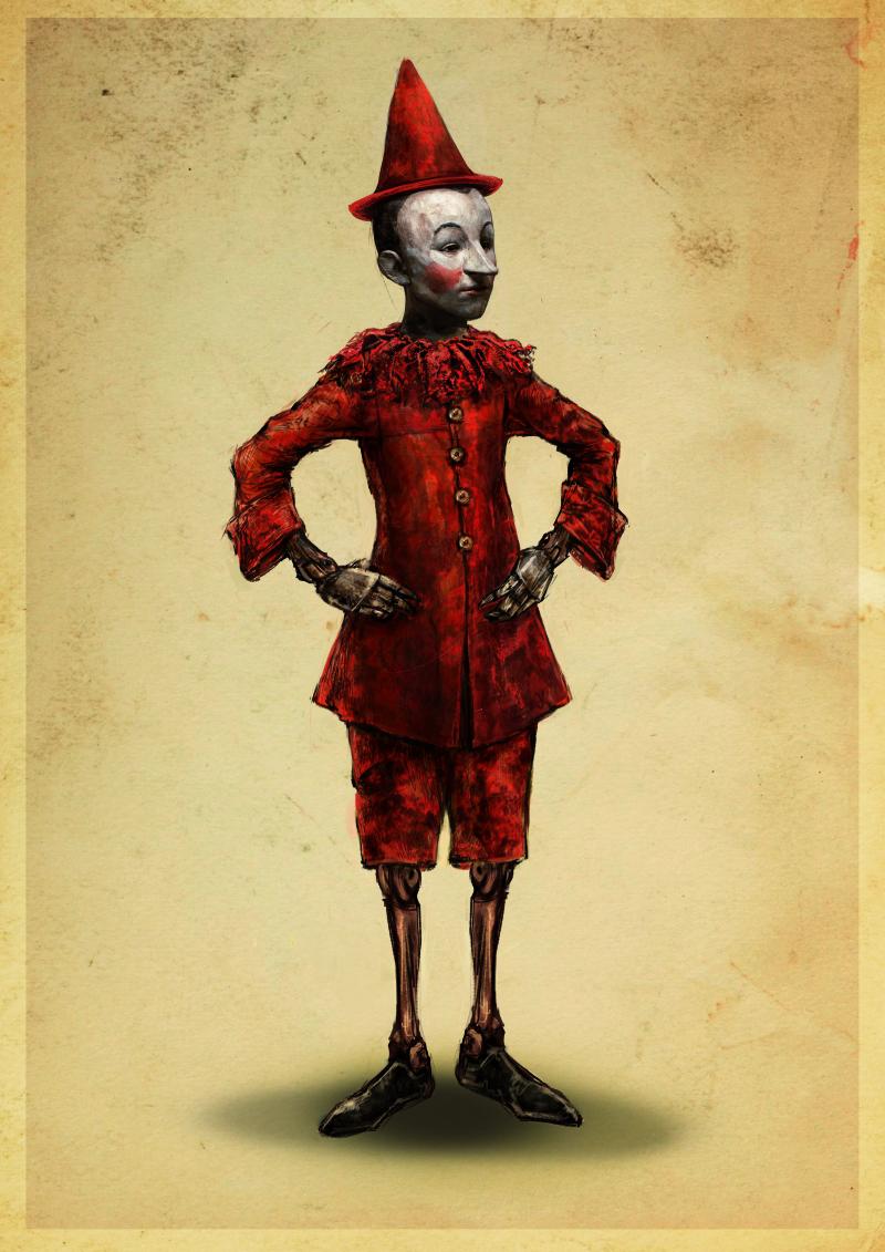 4 Bozzetto Pinocchio