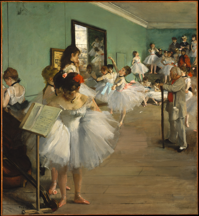 Degas_The Dance Class