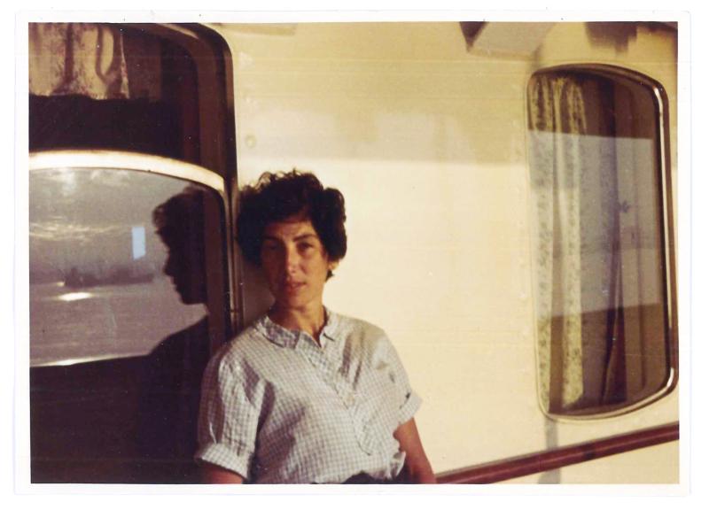 8. © Gennaro Casolaro. In traghetto tra Napoli e Palermo  6 luglio 1961