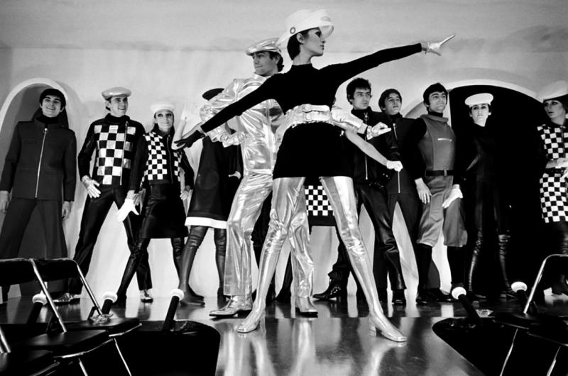 Pierre Cardin Fashion Show  photographed by Jack Burlot  1968