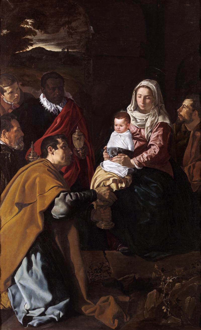 Velázquez_-_Adoración_de_los_Reyes_(Museo_del_Prado _1619)