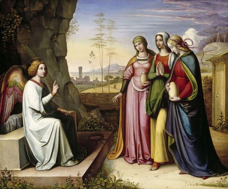 Peter von Cornelius - The Three Marys at the Tomb
