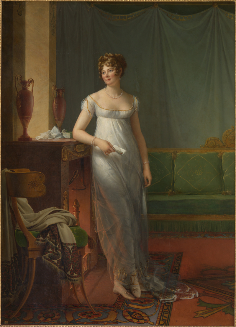 François Gérard_portrait of Madame de Tallyrand