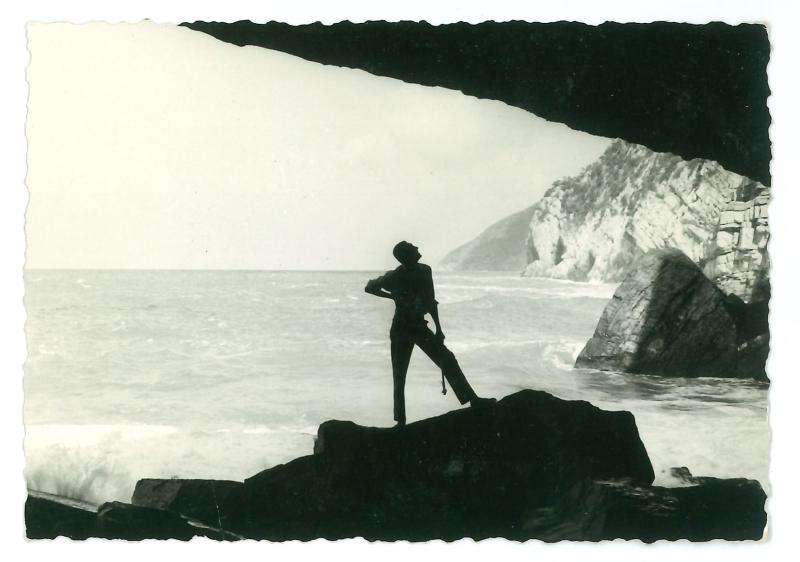 2. © Archivio Albano. Autore Anonimo. Portovenere  28 luglio 1957