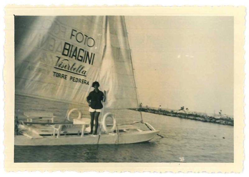 3. © Archivio Albano. Autore Anonimo. Viserba di Rimini  agosto 1953