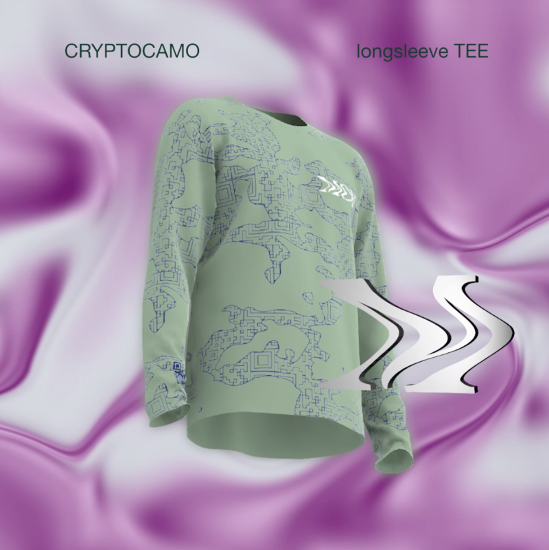 Still of NFT digital garment