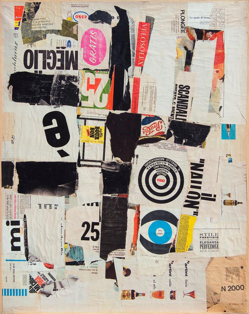 Remo_Gordigiani_Collage_n.1_È_meglio_1964-1967