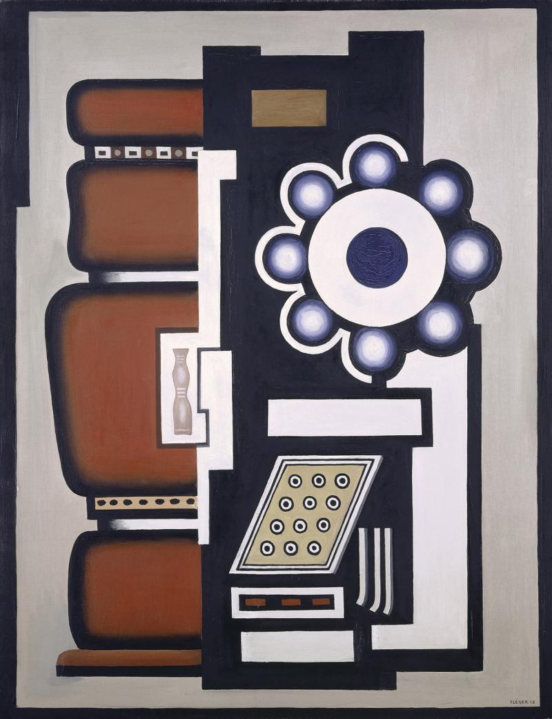 Fernand Léger  Nature morte_Le Mouvement à billes_1926