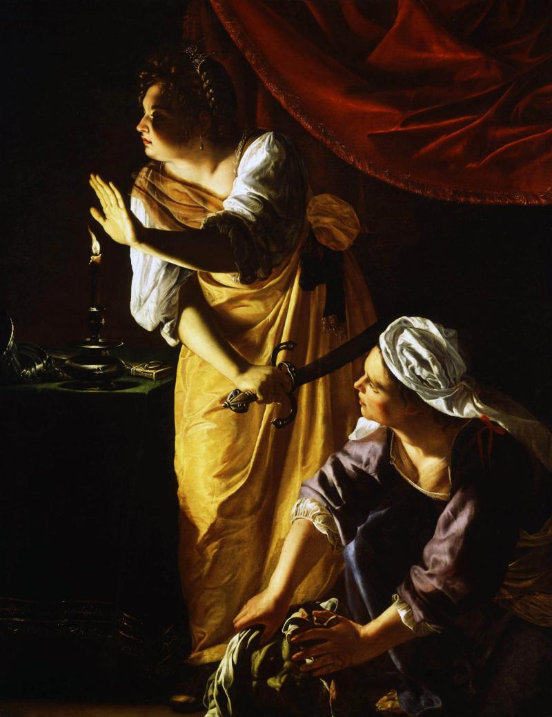 Artemisia Gentileschi  Judith and her Maidservant  1625