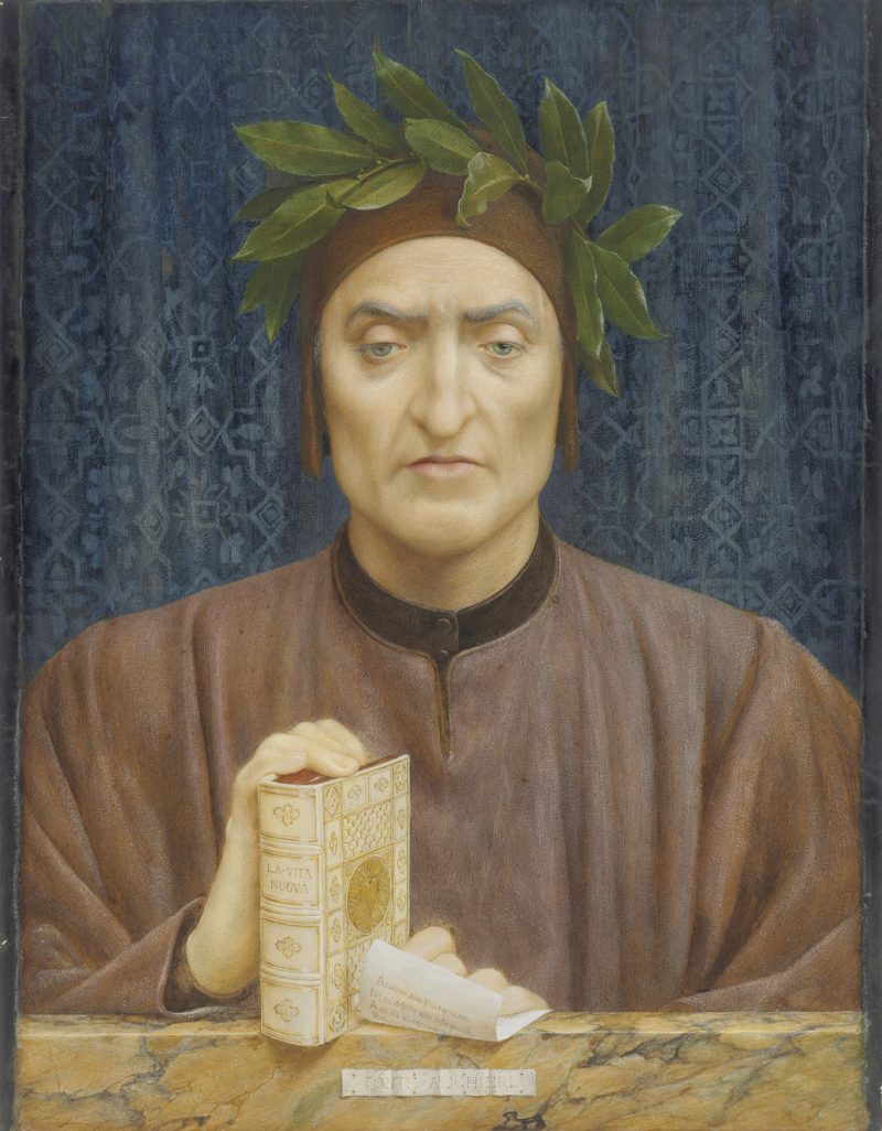 Henry Holiday_Portrait of Dante