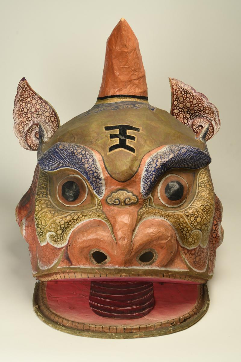 6. Maschera di drago