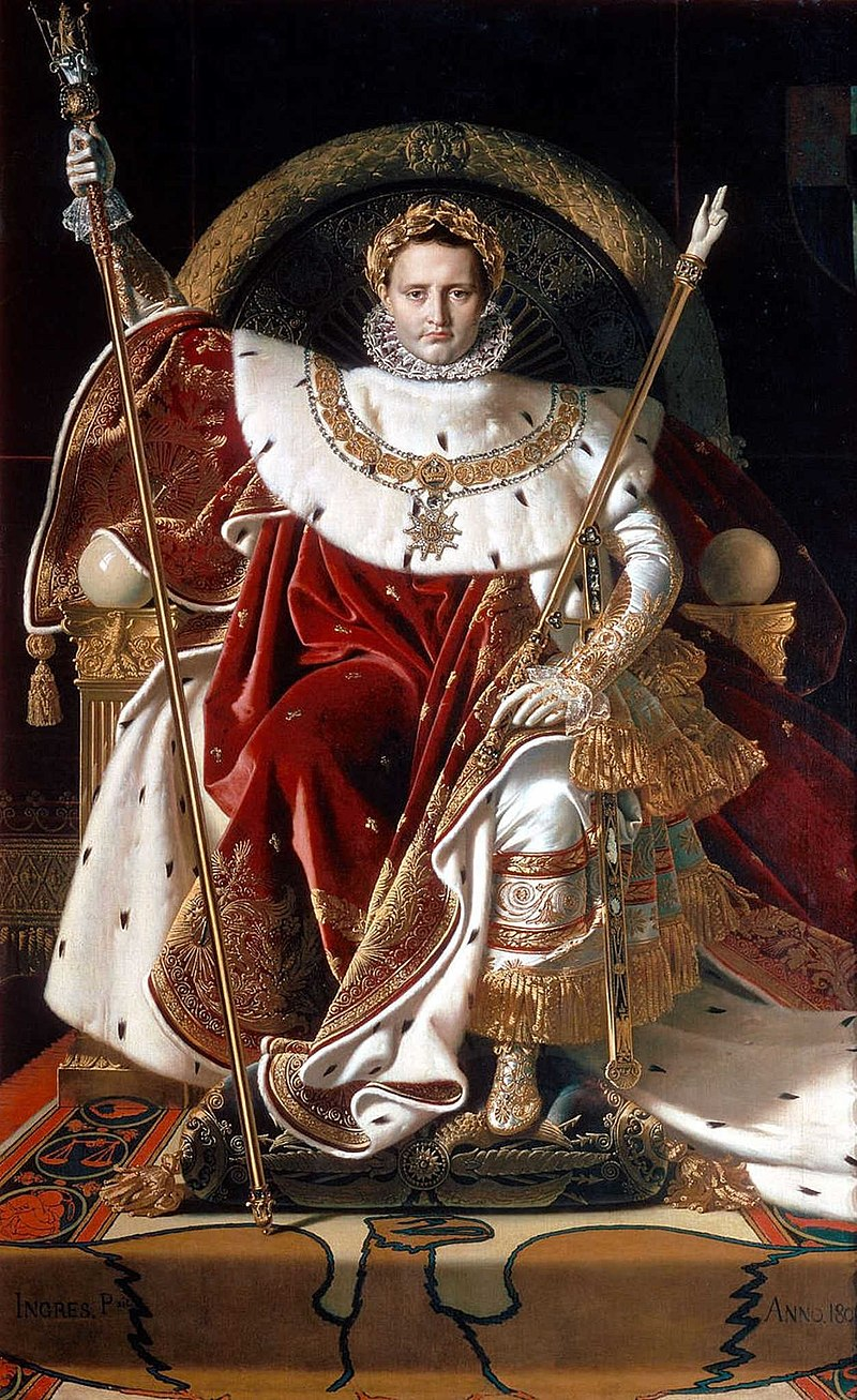 Jean Auguste Dominique Ingres_Napoleon_on_his_Imperial_throne