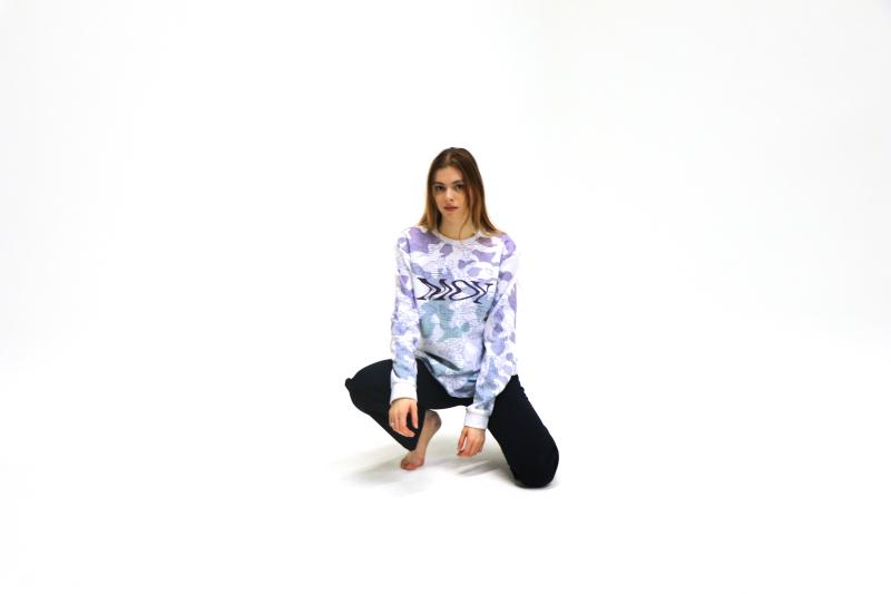Crypto Camo Sweater