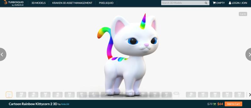 Turboquid_UnicornCat_a