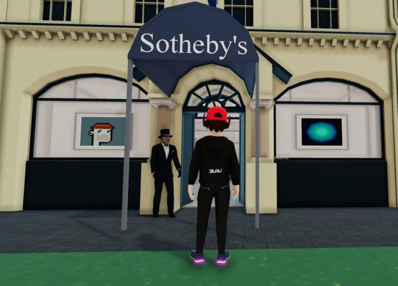 Sothebys_Decentraland